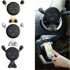For Mobile Cell Phone GPS 360° Rotating Gravity Car Mount Air Vent Stand Holder
