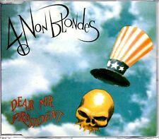 4 NON BLONDES - DEAR MR PRESIDENT - 3 TRACK CD SINGLE