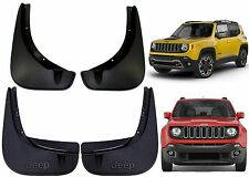 OEM Mopar Front & Rear Mud Flaps For 2015-2017 Jeep Renegade New Free Shipping