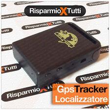 TRACKER GPS / GSM / GPRS LOCALIZZATORE SATELLITARE ANTIFURTO AUTO MOTO