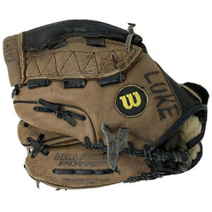 "Wilson Baseball EZ Catch Leather Glove | A2746 EF 3 | 10.5"" | Left Hand Thrower"
