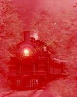 C&NW Train Engine Locomotive 35mm Slide Vtg Souvenir