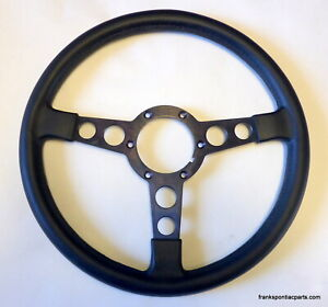 1970-81 Firebird Trans Am NOS GM Black Formula Steering Wheel SUPER RARE FIND!!!