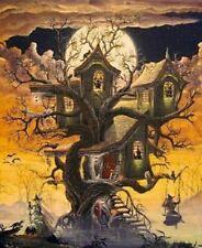 Holidays Halloween  Cross Stitch Pattern---Halloween Art --