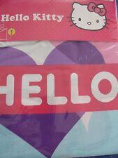 Hello Kitty-Bettwäsche-135x200/80x80cm-100% Baumwolle