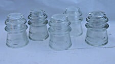 13 Vintage Hemingray Insulators, large lot for Diy lighting kits projects