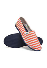 271380d973ef Havaianas Unisex Espadrilles Orange Stripe Beach Slip on Summer Shoes UK 3  Eu37