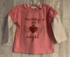 Girls Age 9-12 Months - Bluezoo Long Sleeved Top