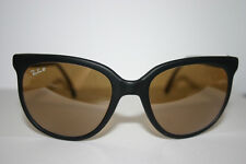 New Vintage Ray Ban Matte Black Rayban Bausch & Lomb B&L Sunglasses CATS RB-50