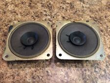 """Vintage 1960s pair 3"""" Alnico magnet tweeters with whizzer cones - Made in Japan"""
