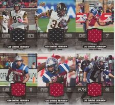 2014 UD CFL CHIP COX GAME JERSEY GJ-CC * MONTREAL ALOUETTES
