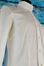 Cheval Fashion Women's Show Shirt Size 8 Cotton Equestrian Horse Cotton Collars