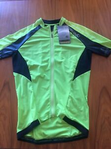 mens ENDURA EQUIPE short sleeve cycle jersey size M