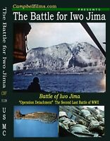 Battle For Iwo Jima Films WWII Army Navy Air Force Pacific War Marines DVD