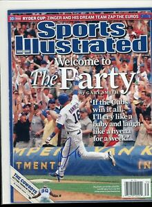 ARAMIS RAMIREZ CHICAGO CUBS NO LABEL SPORTS ILLUSTRATED signed autographed