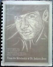 """Indiana Jones Fanzine """"Field Studies1, 2, 3"""" Gen"""
