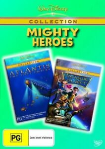 Treasure Planet  / Atlantis - The Lost Empire (DVD, 2006, 2-Disc Set)--FREE POST