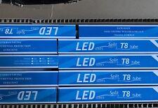 T8 LED Split Tubes Lights 8' Pack Of 15 NEW IN BOX