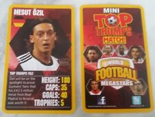 Mesut Ozil - Mini Top Trumps (Match Mag.) World Football Megastars 2013-14