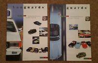 2 X Lledo Vanguards Catalogues  2001