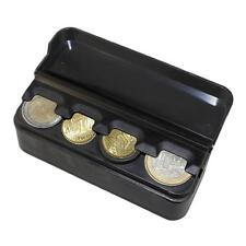 Storage Box Auto Coin Holder Money Container Organizer Car Euro Case Nice
