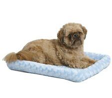 Midwest Quiet Time Fashion Pet Bed 24In Powder Blue