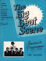 GENE VINCENT 1963 THE CRAZY BEAT U.K. TOUR CONCERT PROGRAM BOOK / LULU / VG 2 EX