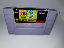 Tiny Toons Adventure Buster Busts Loose Super Nintendo SNES by Konami
