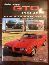Standard Catalog Of GTO 1961-2004 Tempest,Lemans,Can Am,Grand Am