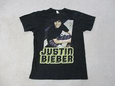 Justin Bieber Concert Shirt Adult Medium Black Yellow R&B Music Pop Singer Mens