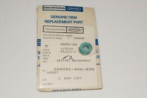 Dresser Masoneilan 009291-426-820 gasket lot of 2, 1-year warranty