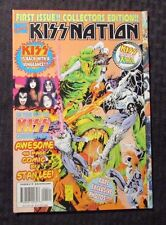 1996 Marvel KISS KISSNATION #1 VF 8.0 vs X-Men - Stan Lee