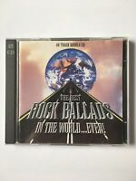 The Best Rock Ballads In The World...Ever ! - 40 Great Tracks - 2 CD's  Album