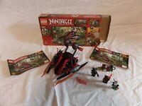 LEGO 70624 Ninjago Vermillion Invader top Zustand mit allen Figuren in OVP