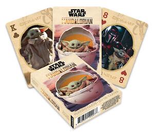 🔥🐶Star Wars The Child Mandalorian Playing Cards Baby Yoda Mando Disney+🐸🔥