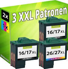 TINTE PATRONEN für LEXMARK 17+27 X1190 X1250 X1270 X1290 X2230 X2250 X1180 X1185