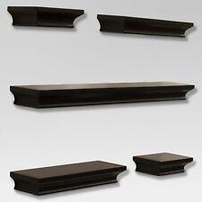 Traditional Shelf Set 5pc - Brown - Thresho