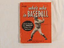 1968 Who's Who in Baseball  Carl Yastrzemski!