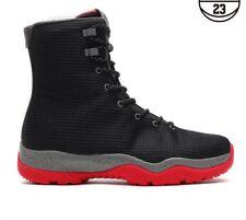 85d34a6566b5 Nike Air Jordan Future Boot BRED Black Red Winter Boots 11 XI SFB 4 Cement  Sz