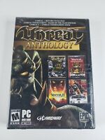 2006 Unreal Anthology Epic Games PC With Box Sleeve NEW FACTORY SEALED ! GIFT !!