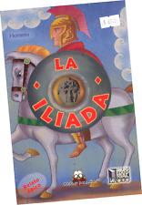 """LIBRO """"LA ILIADA"""" VERSIÓN ILUSTRADA A COLORES PARA NIÑOS, EN ESPAÑOL"""