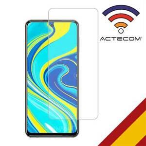 ACTECOM CRISTAL TEMPLADO Xiaomi Redmi Note 9 PRO PROTECTOR PANTALLA redmi note 9