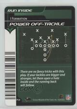 2001-02 NFL Showdown 1st Edition Plays Offense Power Off-Tackle #P19