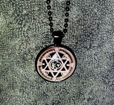 MAGNIFICENT ~ Seal of SOLOMON~ NECKLACE of *GOOD LUCK* WICCA WITCH DJINN CRAFT