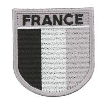 Écusson France Basse Visibilité Noir