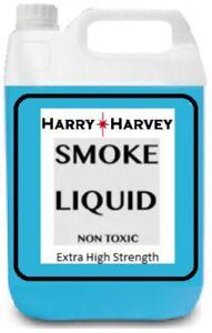 20L 4 X 5 Litres DJ Smoke Machine Fluid Juice Liquid Fog Mist Very High Density