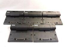 Lot of 5 DELL E-Port Replicator Docking Stations E4200 E4300 E5400 E6400 E6500