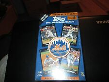 2007 Mets Topps Limited Edition Team Box Sets 55 Cards