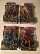 Masters Of The Universe Classics Lot (The Original Skeletor, King Randor, Teela,