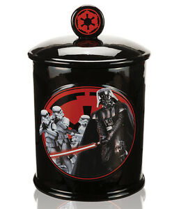 Star Wars : Darth Vader & Stormtrooper * Keksdose aus Keramik (in Geschenkbox)